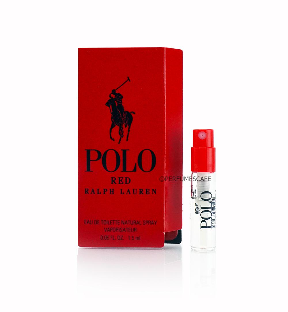 น้ำหอม Ralph Lauren Polo Red EDT ขนาดทดลอง 1.5ml