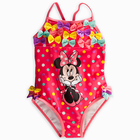 Z Minnie Mouse Swimsuit for Girls Size3