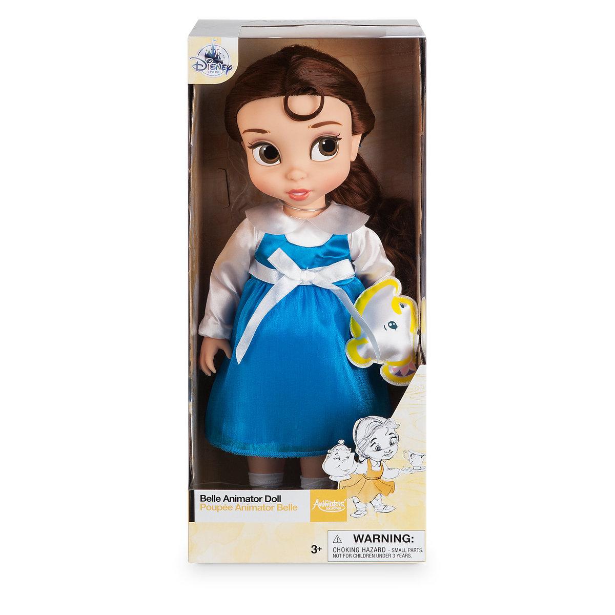 Disney Animators' Collection Belle Doll - 16'' ของแท้ นำเข้าจากอเมริกา