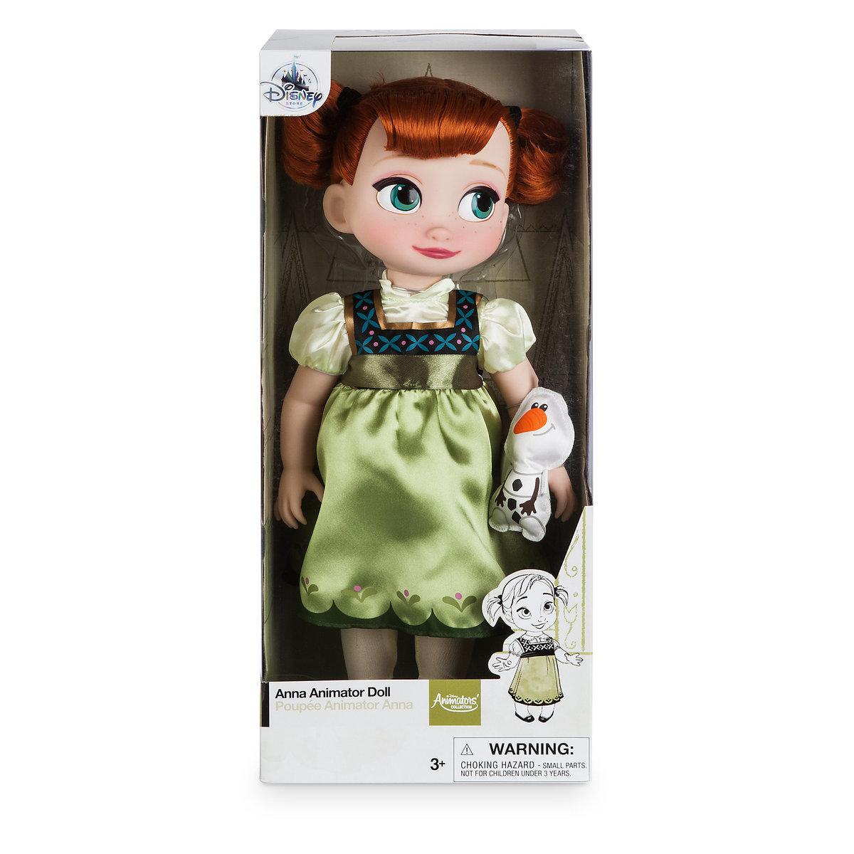 Disney Animators' Collection Anna Doll - Frozen - 16'' ของแท้ นำเข้าจากอเมริกา