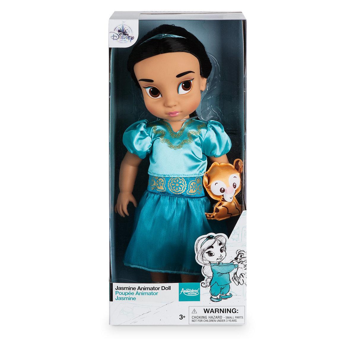 Disney Animators' Collection Jasmine Doll - 16'' ของแท้ นำเข้าจากอเมริกา