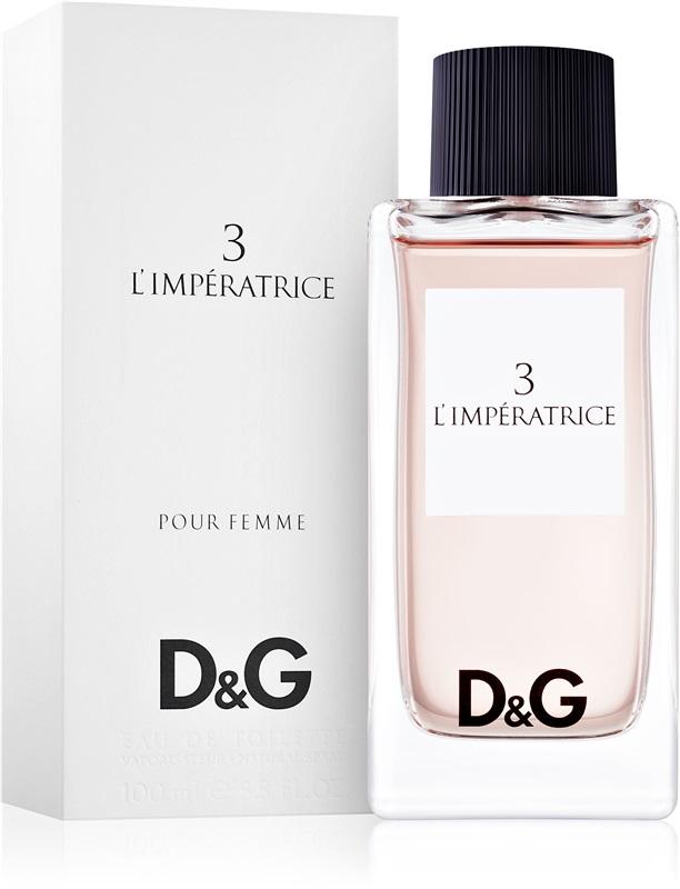 น้ำหอม D&G Anthology L`Imperatrice 3 EDT ขนาด 100ml กล่องซีล
