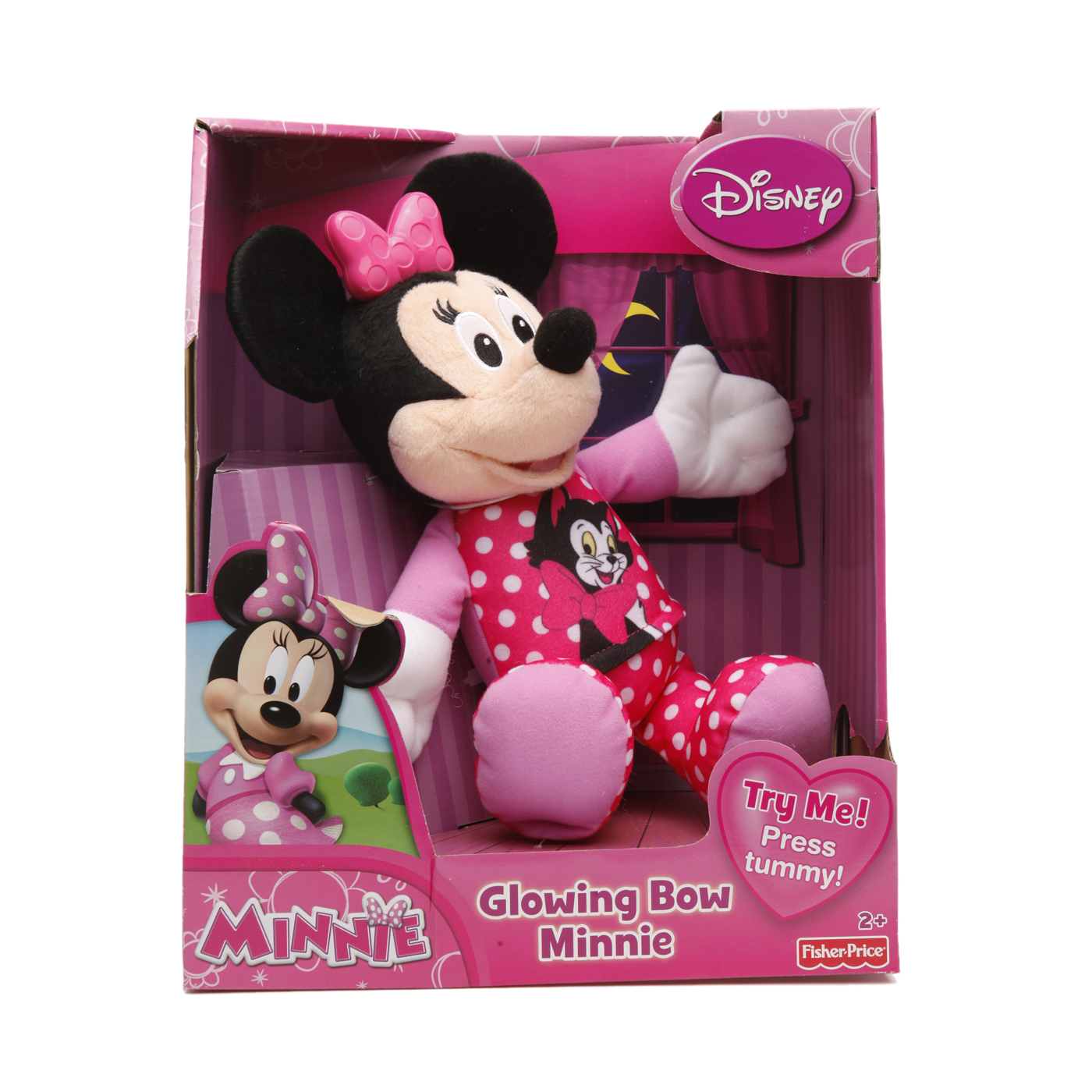 Fisher Price Minnie Mouse Bow-Tique Glowing Bow Minnie.