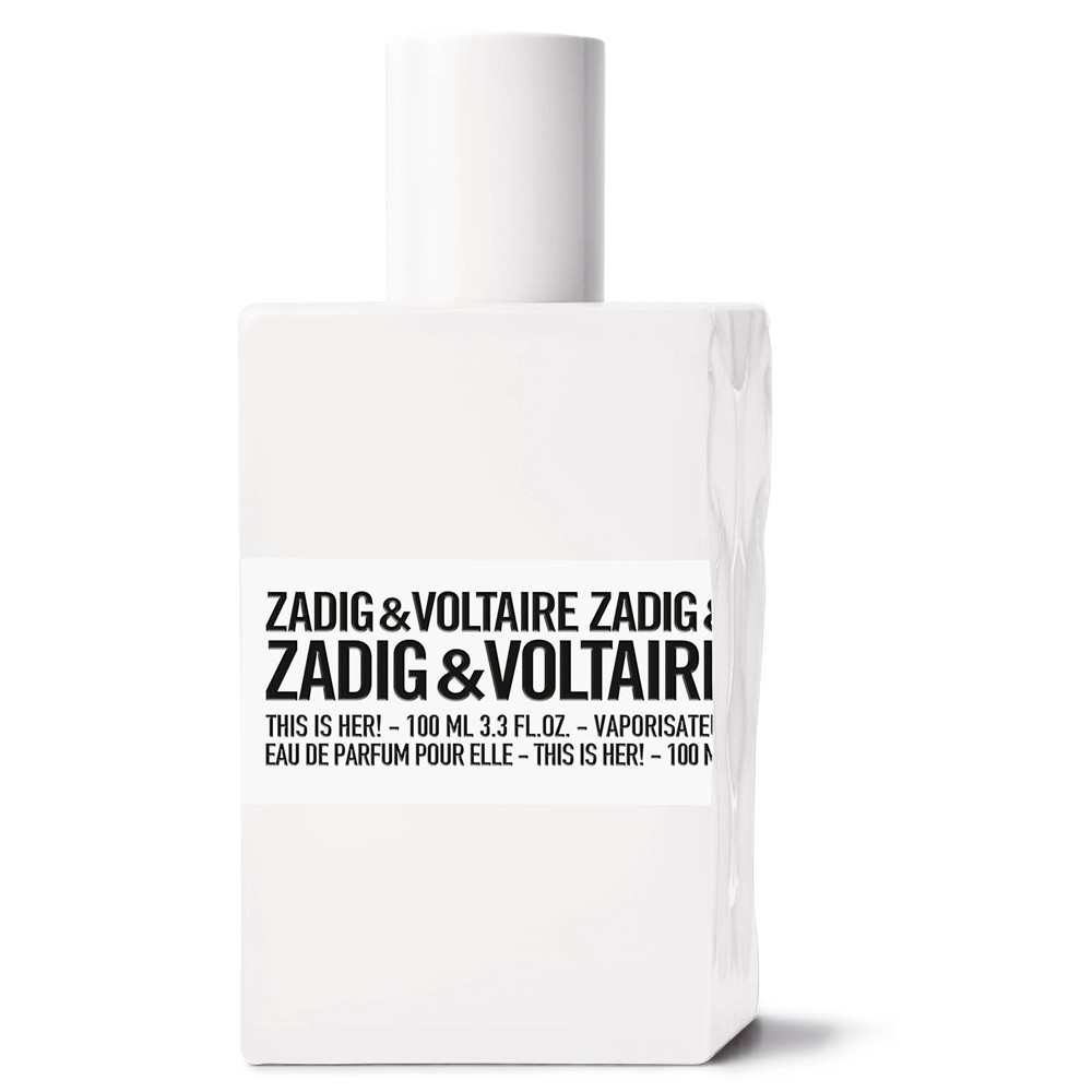 น้ำหอม Zadig & Voltaire This Is Her Eau de Parfum ขนาด 100ml. กล่องเทสเตอร์