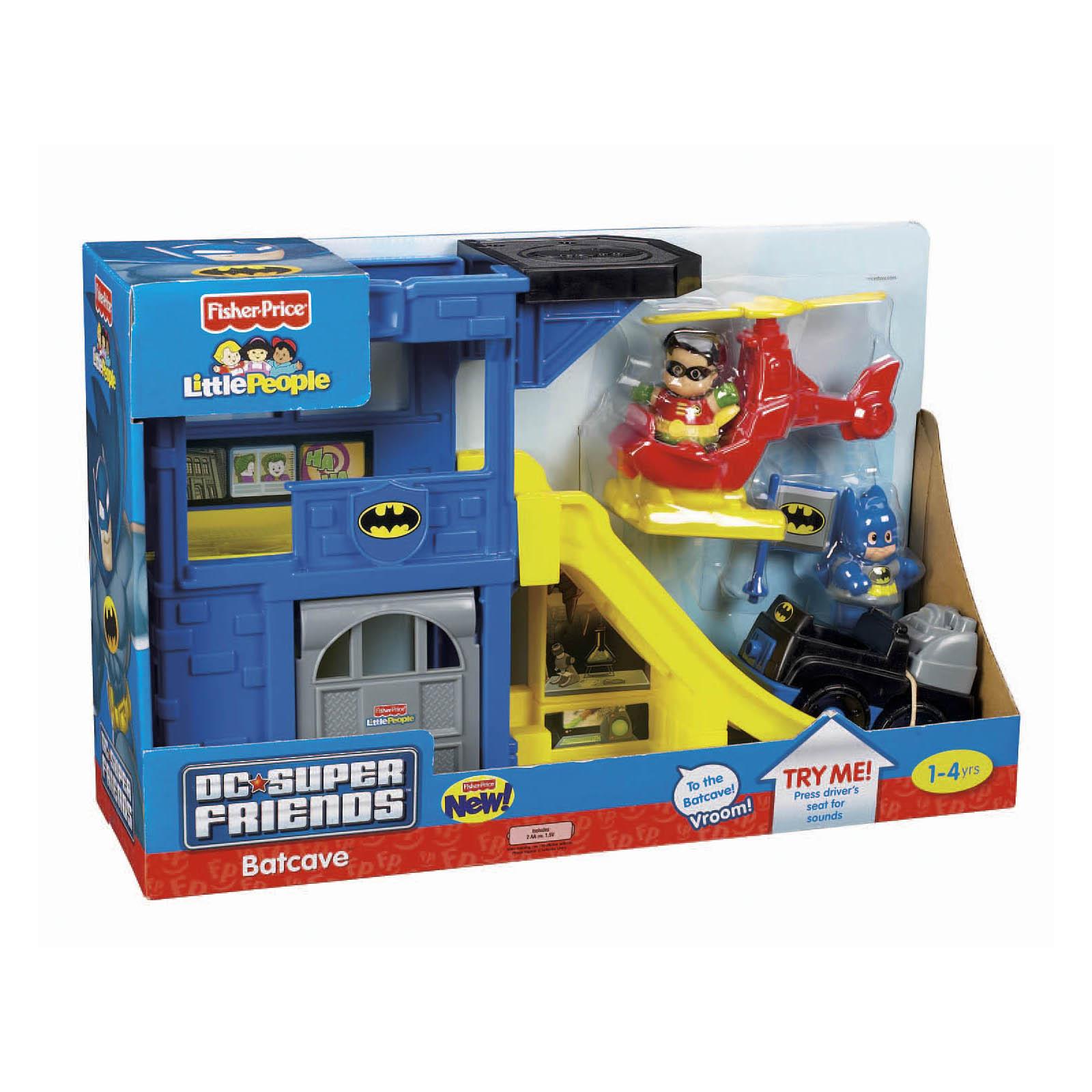 Fisher Price Little People DC Super Friend Batcave.