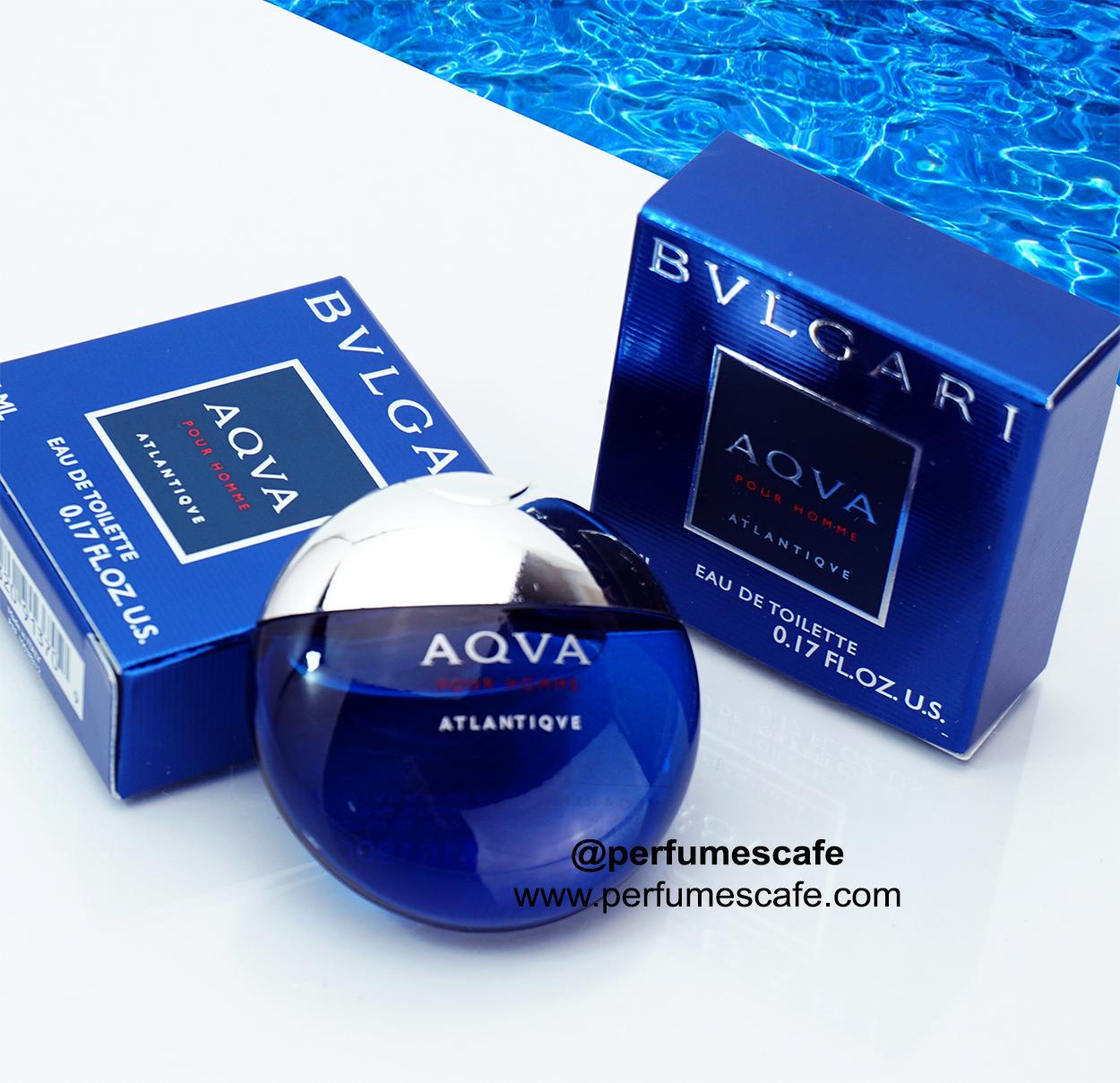 น้ำหอม Bvlgari Aqva Pour Homme Atlantiqve EDT ขนาด 5ml แบบแต้ม