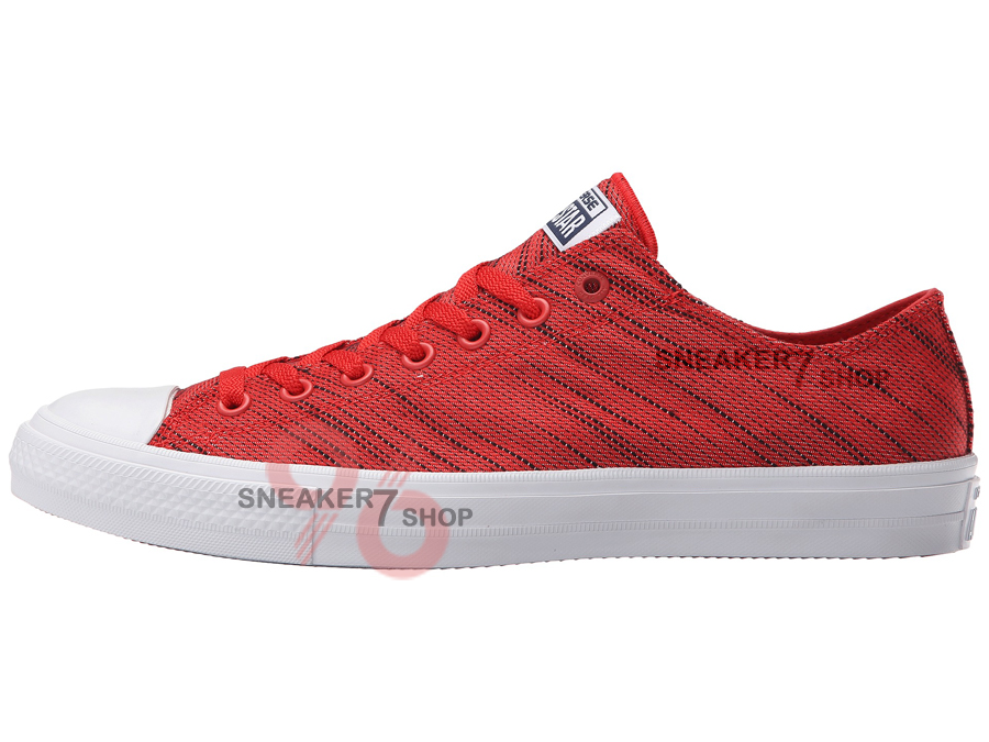 รองเท้าผ้าใบ The Converse® Chuck Taylor® All Star® II Knit Ox Unisex ผู้ชาย ผู้หญิง Shoes Size 37 - 44 พร้อมกล่อง