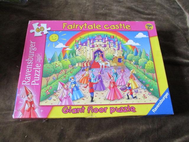 จิ๊กซอว์ 60ชิ้น Fairytale castle