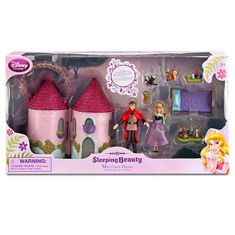 Z Sleeping Beauty Mini Castle Play Set