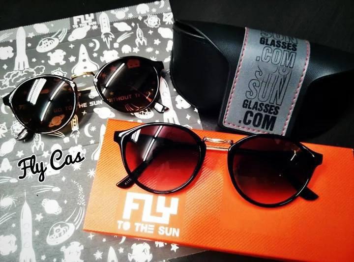 [พร้อมส่ง] แว่นกันแดด Fly to the sun รุ่น Cas