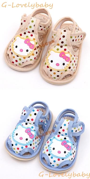 รองเท้าเด็กวัยหัดเดิน คุณภาพดี รองเท้าเด็ก รองเท้าเด็กทารก รองเท้าเด็กนุ่มพื้นหนังกันลื่น (0-1ขวบ) คิตตี้ KT kitty