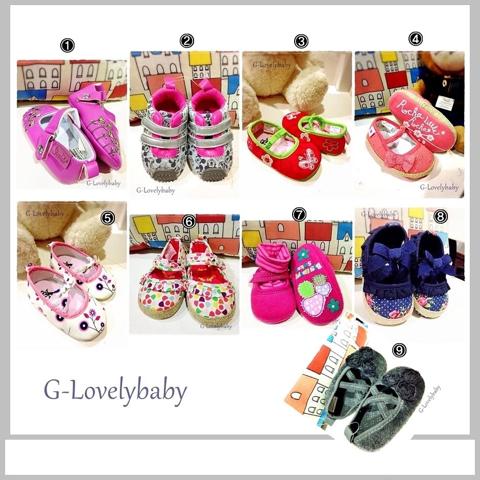 รองเท้า รองเท้าเด็ก รองเท้าเด็กวัยหัดเดิน รองเท้าเด็กทารก รองเท้าเด็กอ่อน pre walker baby shoes (11/10.5cm)