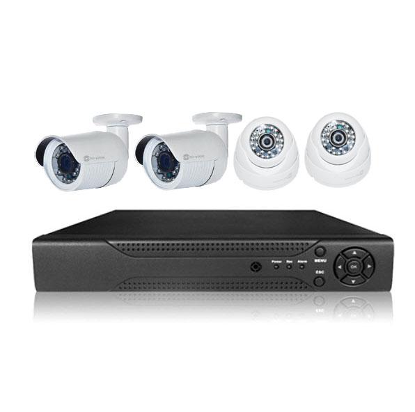 SET NVR 4CH Hi-View X2 Hmp-88B10 X2 Hmp-88D10 720p HD IP Camera