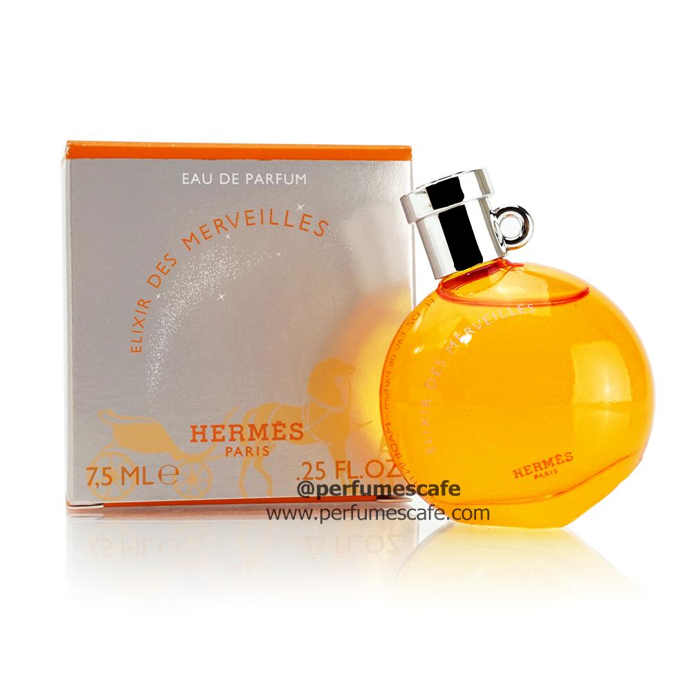 น้ำหอม Hermes Elixer Des Merveilles Eau de Parfum ขนาด 7.5ml แบบแต้ม