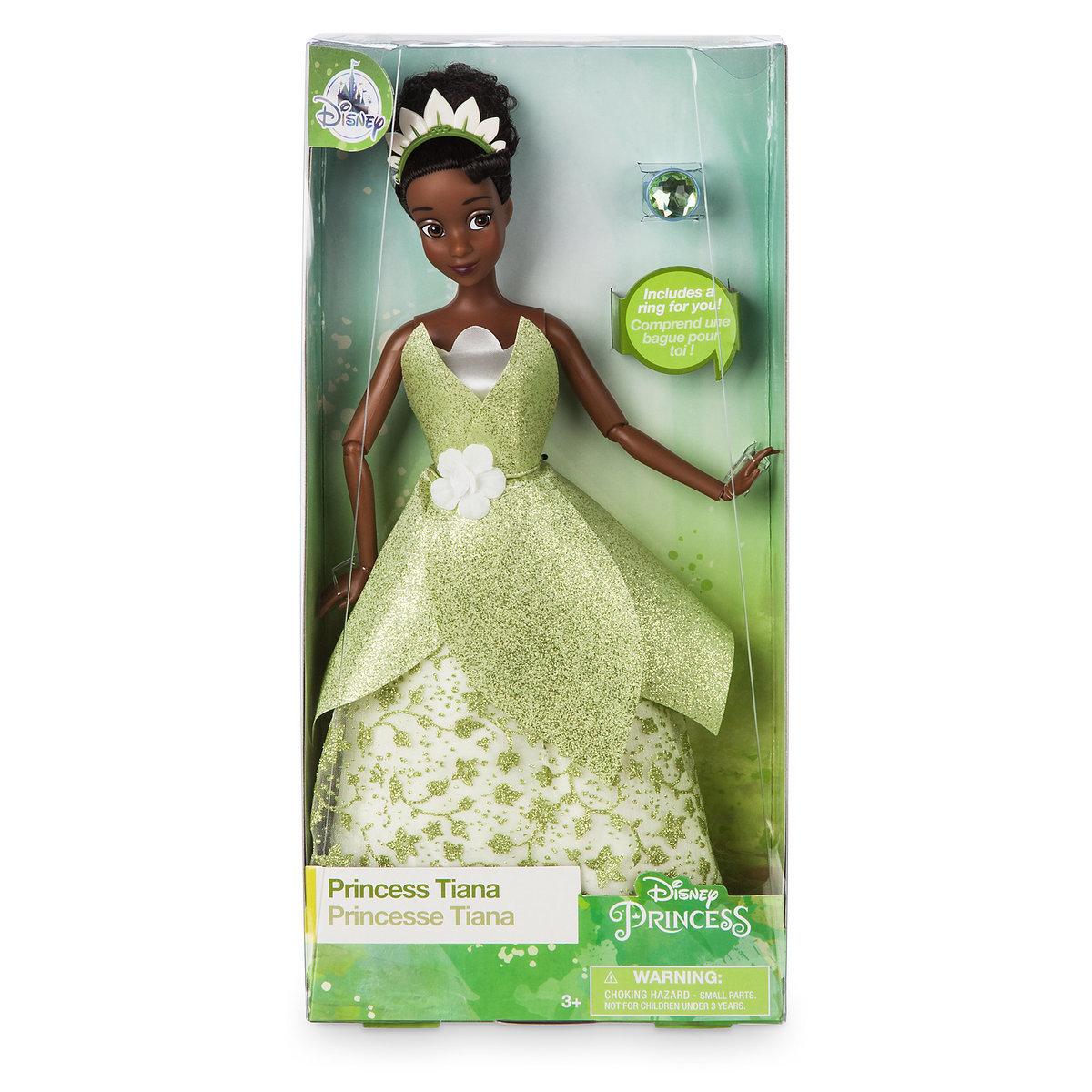 Tiana Classic Doll with Ring - The Princess and the Frog - 12'' ของแท้ นำเข้าจากอเมริกา