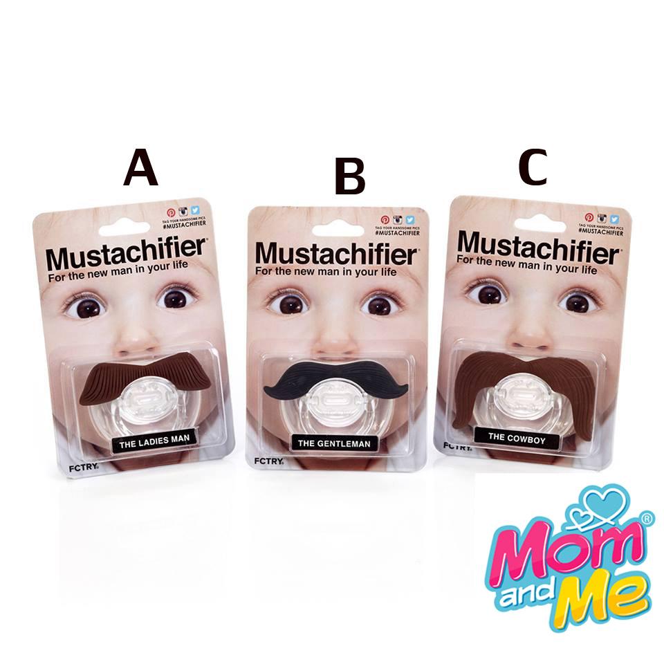 จุกหลอกรูป หนวด Mustachifier Mustache Pacifier BPA 100% จุดหลอกรูปหนวดสุดเก๋จากแบรนด์ Mustachifier ของแท้มี package