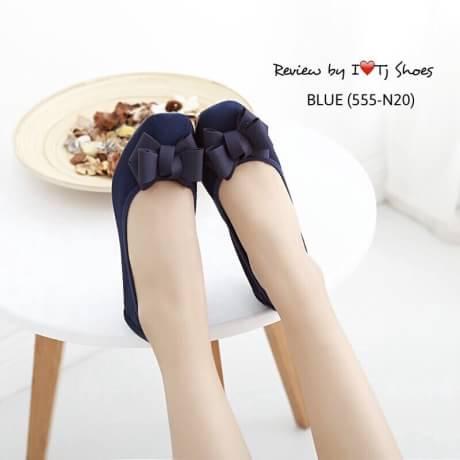 รองเท้าเพื่อสุขภาพแบบหนีบรัดส้น สายด้านหลังเป็นยางยืดใส่กระชับเท้า