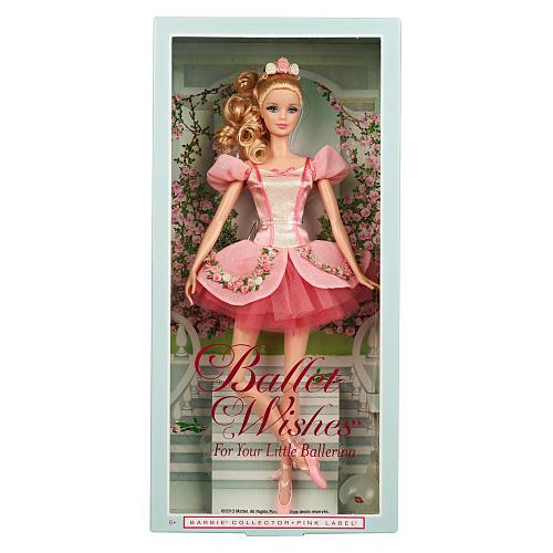 z Barbie Collector Ballet Wishes Doll ของแท้100% นำเข้าจากอเมริกา ตุ๊กตาบาร์บี้ เต้นบัลเล่ย์