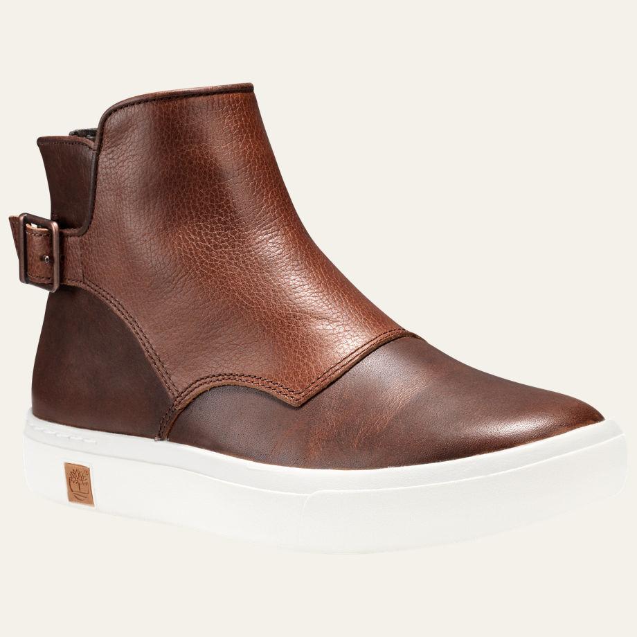 รองเท้าหนัง WOMEN'S Earthkeepers Timberland AMHERST BUCKLE CHELSEA SHOES Size 36 - 39 พร้อมกล่อง