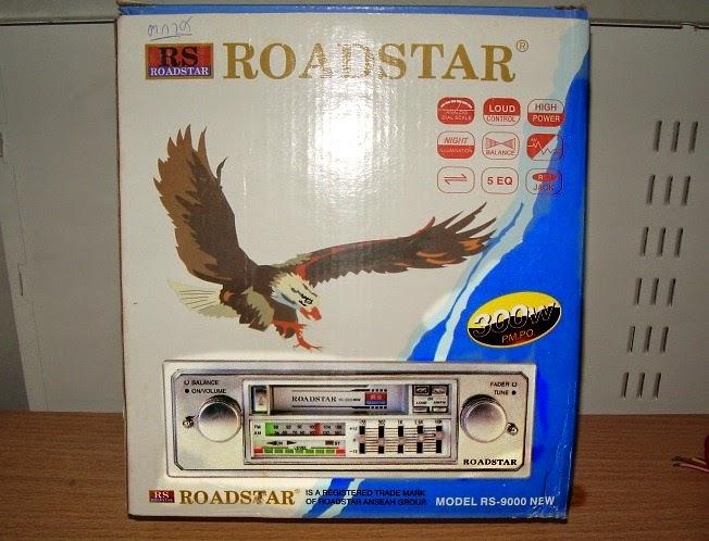 วิทยุเทปติดรถยนต์ ยี้ห้อ ROADSTAR