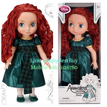 z Disney Pixar Brave Movie Exclusive 16 in Toddler Doll Merida - 16'' รุ่นใหม่(พร้อมส่ง) ตุ๊กตาดีสนีย์ แอนิเมเตอร์ เจ้าหญิงเมอริด้า เจ้าหญิงเบรฟ รุ่นใหม่ รุ่น2 (รุ่นสอง)