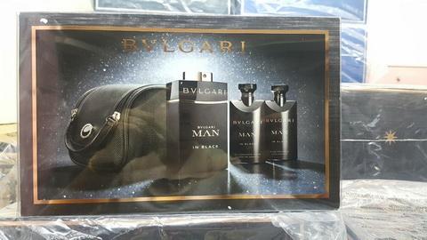 น้ำหอม Set Bvlgari Man In Black EDP Gift Set 4ชิ้น