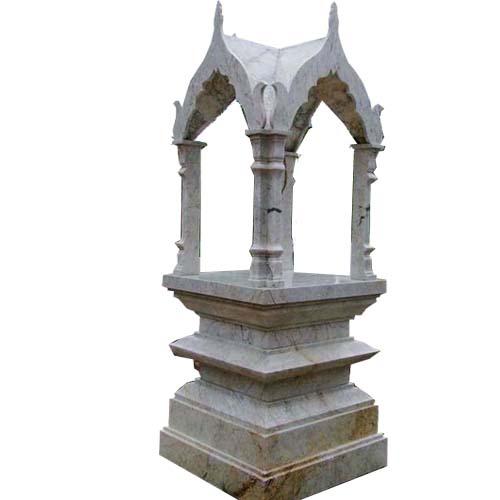 ศาลพระพรหม ขนาด กว้าง 126ยาว 126 สูง 320 เซนติเมตร