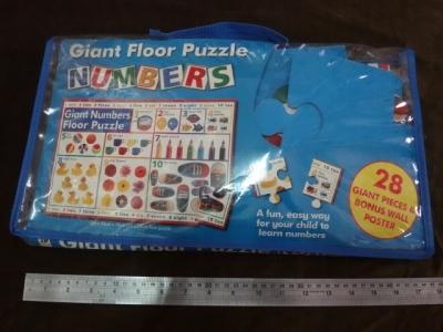 จิ๊กซอว์ 28 ชิ้น Giant floor puzzle numbers