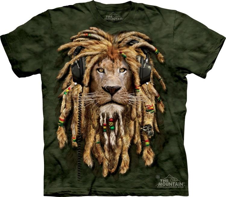 Pre.เสื้อยืดพิมพ์ลาย3D The Mountain T-shirt : DJ Jahman