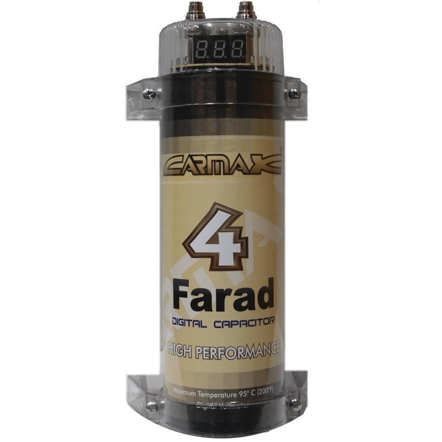 คาปาซิเตอร์ ยี้ห้อ CARMAX 4.0 FARAD
