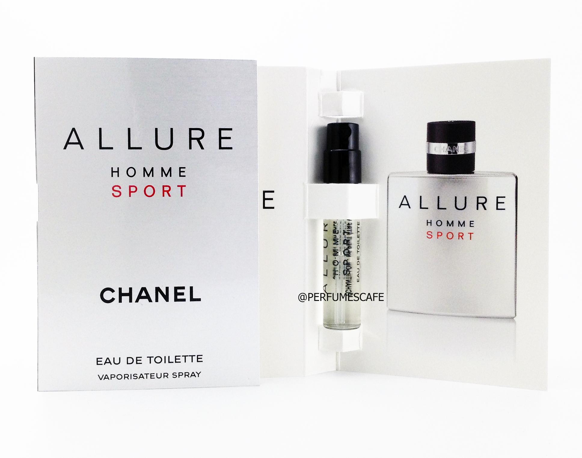 น้ำหอม Chanel Allure Homme Sport EDT ขนาดทดลอง 2ml แบบสเปรย์