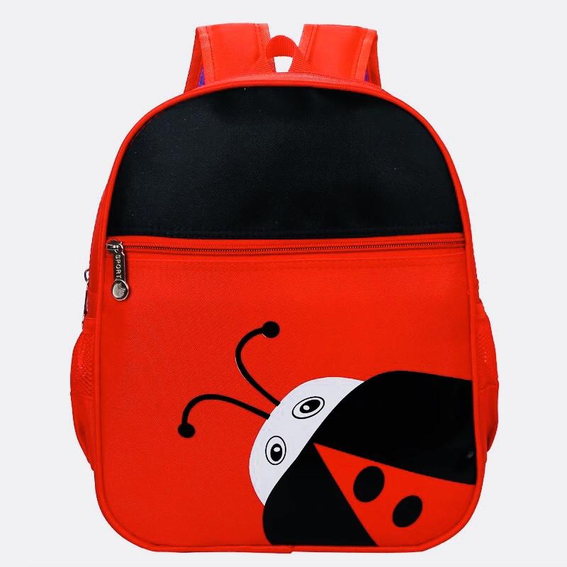 Kids Backpacks Kindergarten Backpacks กระเป๋าเป้เด็ก กระเป๋าเด็กลายการ์ตูน กระเป๋าเป้เด็ก กระเป๋าสำหรับเด็กอนุบาล เลดี้บัก เต่าทองสีแดง