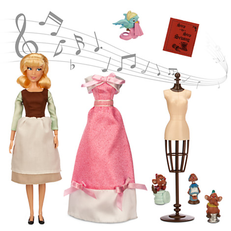 Cinderella Deluxe Singing Doll Set - 11''