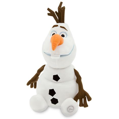 ฮ Olaf Plush ขนาด13.5นิ้ว(33.75 cm.) - Frozen from Disney Store USA แท้100%นำเข้าจากอเมริกา ตุ๊กตาโอลาฟตัวนุ่ม น่ารักน่ากอดมากๆๆๆ