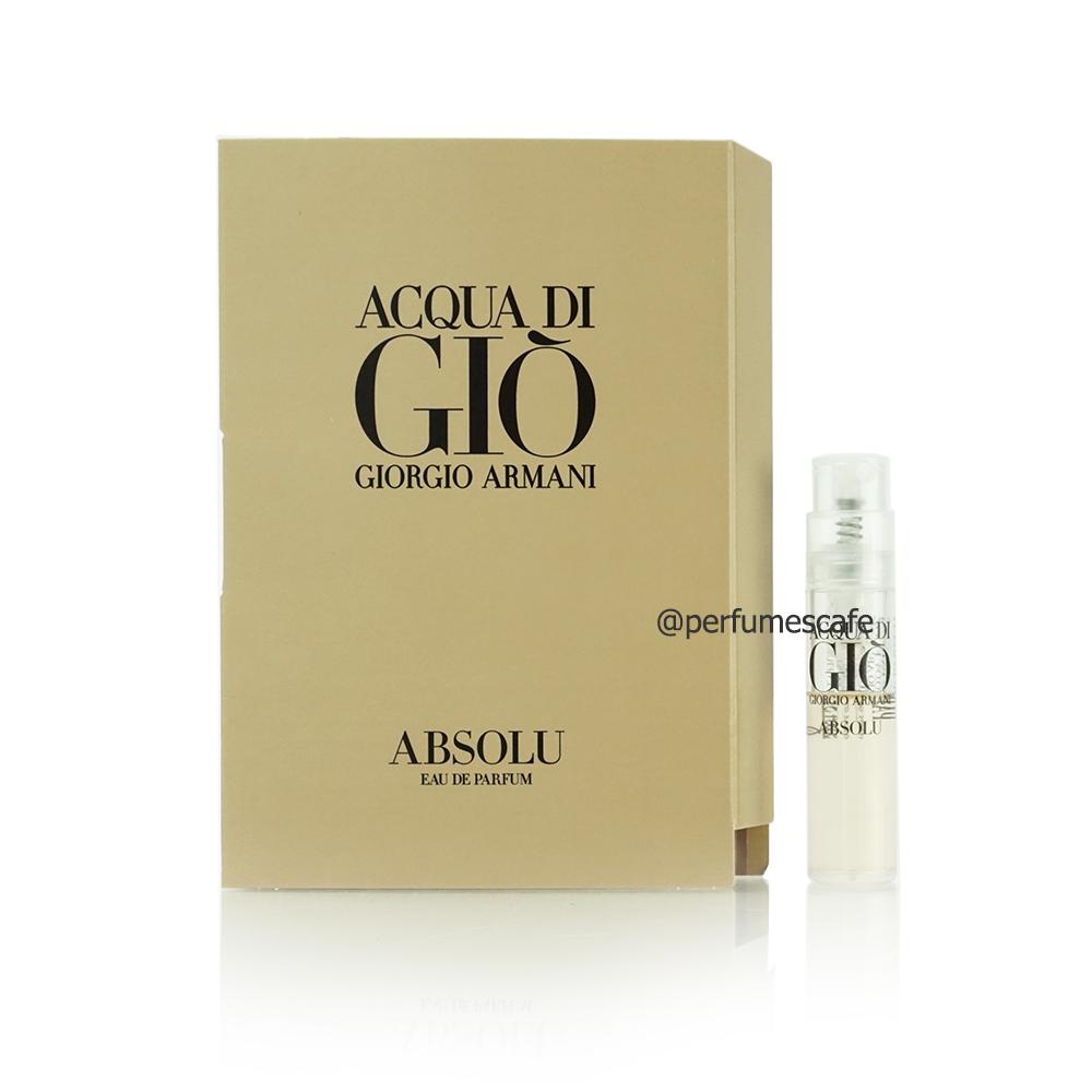 น้ำหอม Giorgio Armani Acqua Di Gio Absolu for men ขนาด 1.5ml
