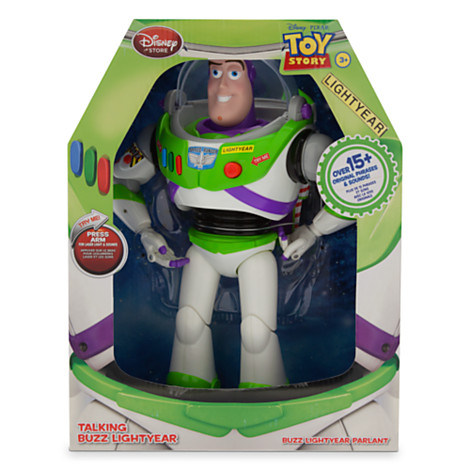 ฮ Talking Buzz Lightyear - Toy Story From USA