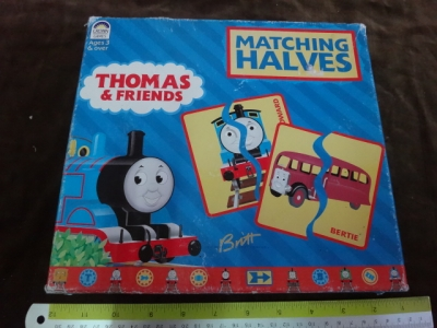 Thomas & Friends matching halves