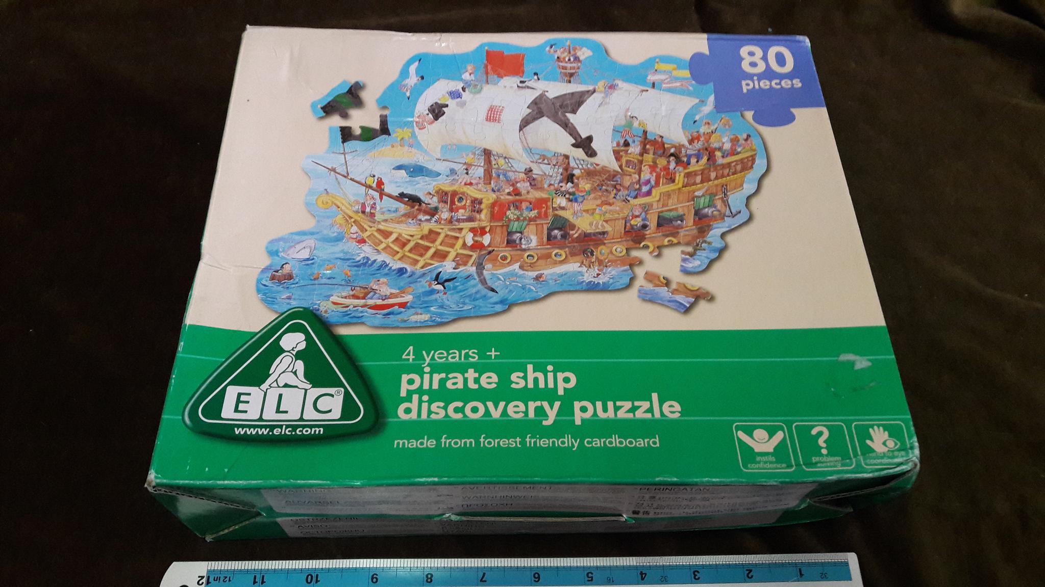 จิ๊กซอว์80ชิ้น pirate ship