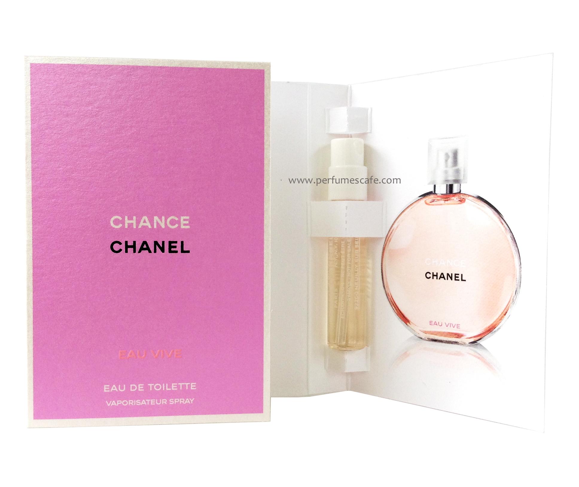 น้ำหอม Chanel Chance Eau Vivi EDT ขนาด 2 ml