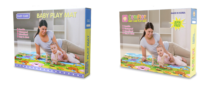 Package Comflor baby care playmat แผ่นรองคลาน