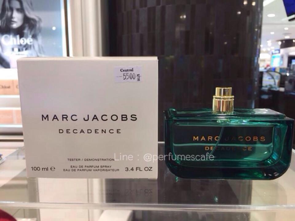 Marc Jacobs Decadence Eau de Parfum ขนาด 100 ml. กล่องเทสเตอร์ไม่มีฝา