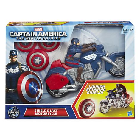 z Captain America Shield Blast Motorcycle