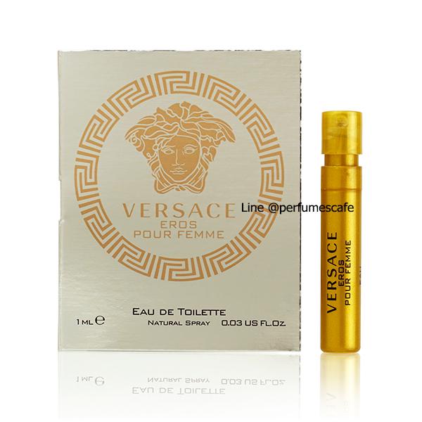 น้ำหอม Versace Eros Pour Femme EDT ขนาดทดลอง 1ml