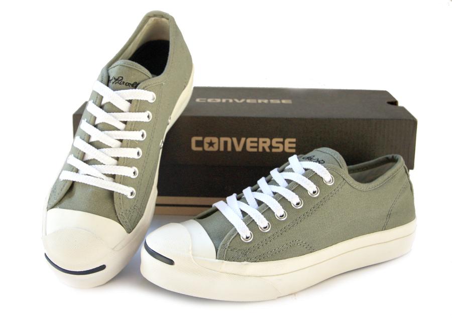 รองเท้า Converse Jack Purcell สีเทาเข้ม ผู้ชาย ผู้หญิง Shoes Size 37-44 พร้อมกล่อง