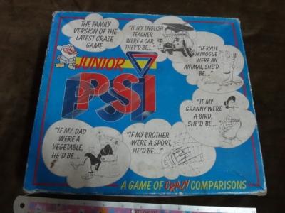 Junior PSI board game