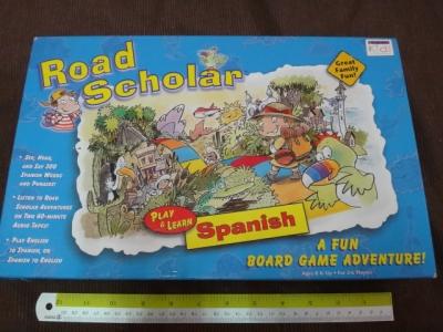 Road scholar play & learn spanish