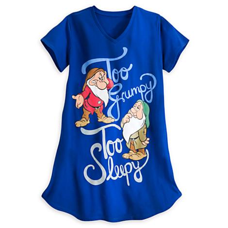 z Grumpy and Sleepy Nightshirt for Women