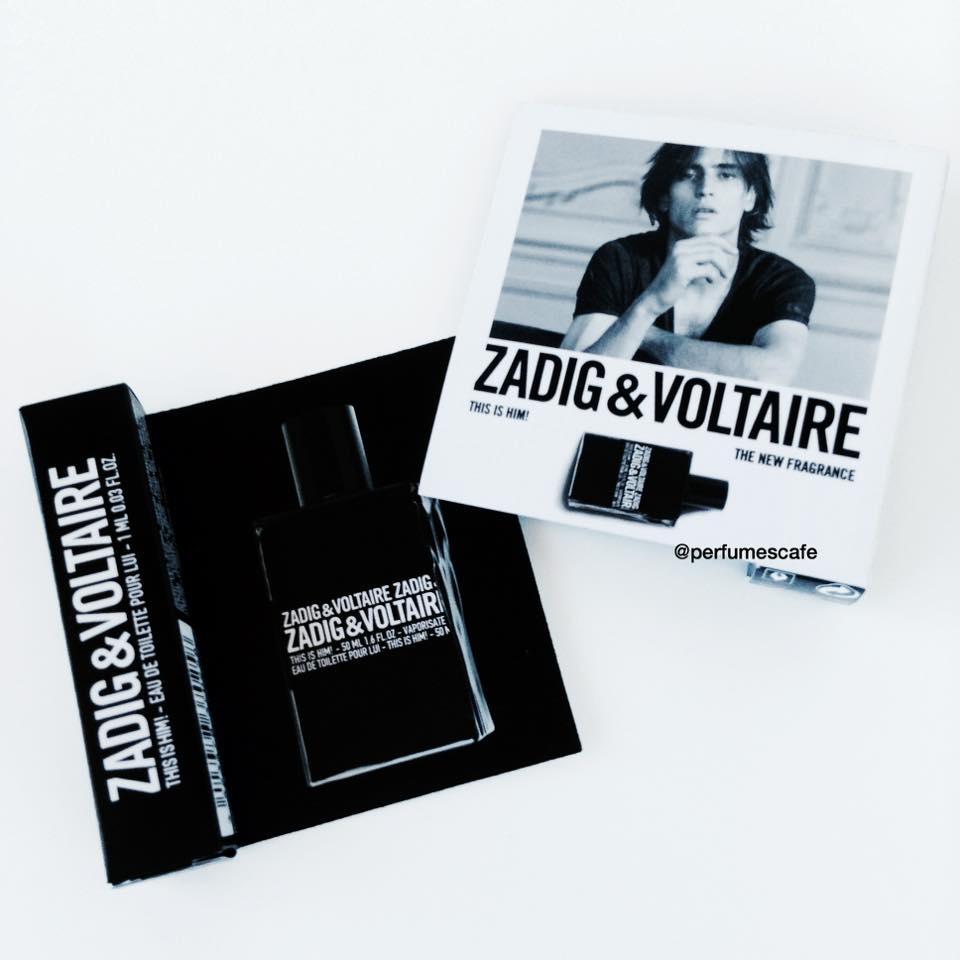 น้ำหอม Zadig & Voltaire This Is Him EDT ขนาดทดลอง 1ml