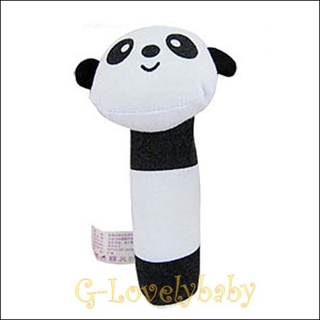 ของเล่นเด็กทารก ของเล่นเสริมพัฒนาการเด็ก ตุ๊กตาของเล่นเด็กอ่อน ตุ๊กตารูปสัตว์ปี๊ปๆ หมีแพนด้า