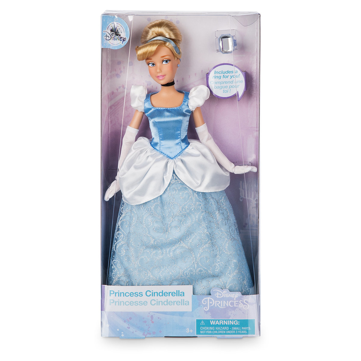 Cinderella Classic Doll with Ring - 12'' ของแท้ นำเข้าจากอเมริกา